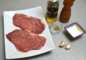 Шницель из мраморной говядины - фото шаг 1