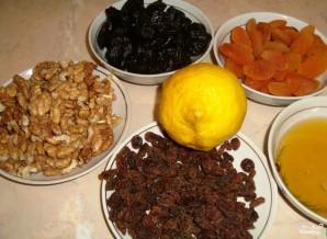 Щербет из сухофруктов и орехов - фото шаг 1