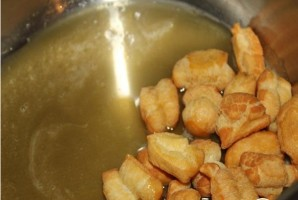 Баурсак с медом - фото шаг 8