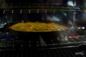 Перевернутый пирог с яблоками и тыквой - фото шаг 8