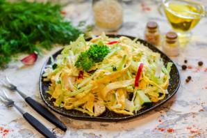 Японский салат с курицей - фото шаг 11