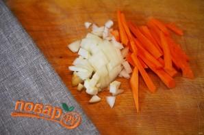 Постный салат из чечевицы - фото шаг 2