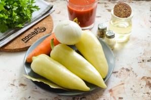 Перец фаршированный овощами на зиму