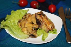 Запеканка с грибами и баклажанами - фото шаг 12