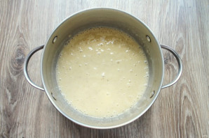 Постный банановый крем для торта - фото шаг 4