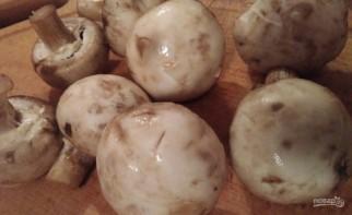 Омлет с грибами по диете Дюкана - фото шаг 1