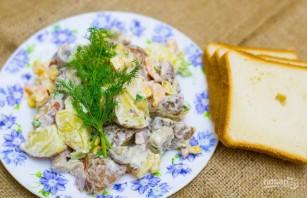 Салат из ветчины и кукурузы - фото шаг 6