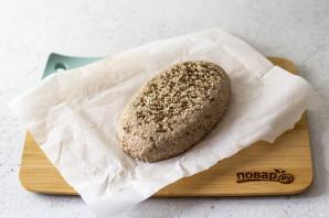 Хлеб из зеленой гречки без дрожжей - фото шаг 8