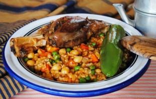 Суп из баранины с булгуром - фото шаг 8