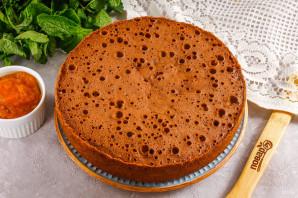 Торт с абрикосовым джемом