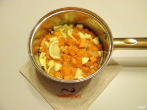 Варенье из тыквы с яблоком и лимоном - фото шаг 7