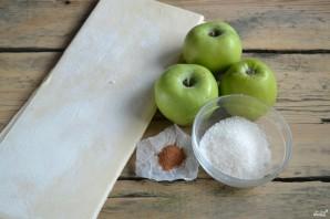 Простой яблочный пирог - фото шаг 1
