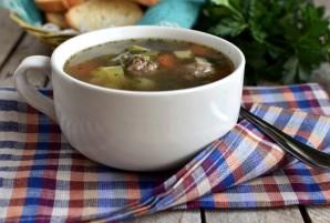 Суп овощной с фрикадельками - фото шаг 6
