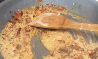 Паста со свининой в сливочном соусе - фото шаг 2
