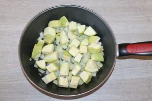 Тушеные кабачки с фасолью - фото шаг 4