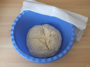 Заварное тесто на дрожжах - фото шаг 6