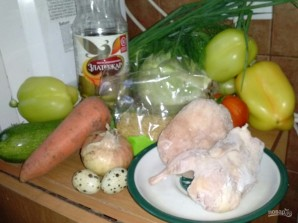 Перец, фаршированный булгуром, мясом и овощами - фото шаг 1