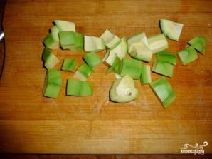 Салат с фасолью консервированной - фото шаг 4