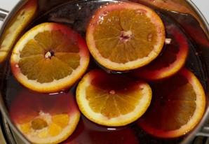 Глинтвейн рецепт классический с апельсином - фото шаг 7