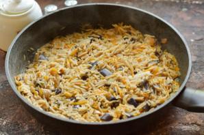 Овощное рагу с рисом и баклажанами - фото шаг 9