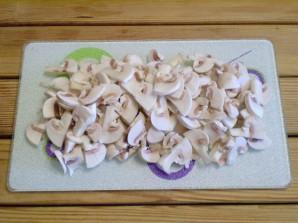 Салат с грибами и морковью - фото шаг 3