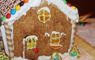 Рождественский пряничный ароматный домик - фото шаг 16