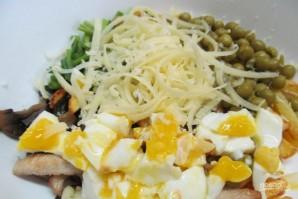 Салат с молодым картофелем и индейкой - фото шаг 5