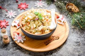 Мясной салат на Новый год - фото шаг 8