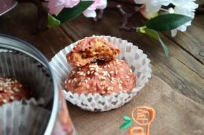 Свекольно-кунжутное печенье - фото шаг 8