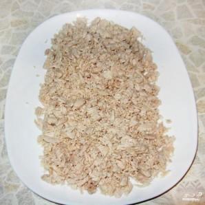 Салат Белая Береза из куриного филе - фото шаг 2