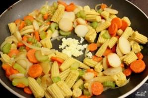 Стир-фрай из курицы с овощами - фото шаг 9