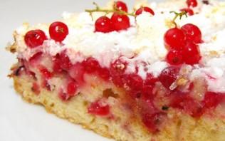 Сладкий пирог со смородиной - фото шаг 6