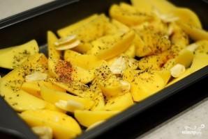 Маринованная в кефире курица с картофелем - фото шаг 4