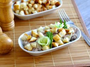 Салат с говядиной и сухариками - фото шаг 11