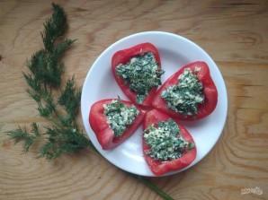 Лодочки из помидоров с начинкой - фото шаг 5