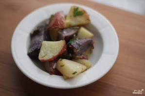 Картофельный салат без майонеза - фото шаг 3