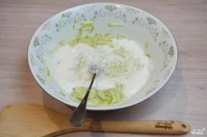 Кабачковое суфле с индейкой под грибным соусом - фото шаг 4