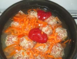 Ежики на сковороде - фото шаг 4