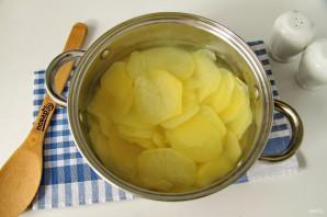 Пирог с картошкой и луком в духовке - фото шаг 6