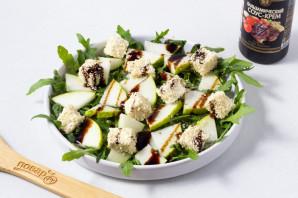 Зеленый салат с грушей - фото шаг 6