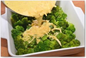 Запеканка из брокколи в духовке - фото шаг 10