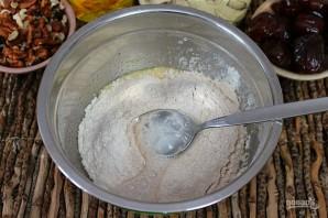 Печенье с орехами и финиками - фото шаг 4