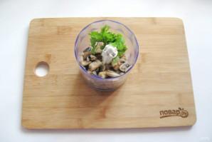 Жареные огурцы с грибами - фото шаг 5