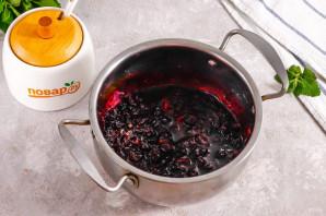 Варенье из черной смородины с мятой - фото шаг 5