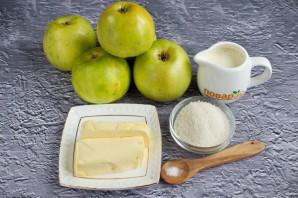 Карамелизированные яблоки на сковороде - фото шаг 1