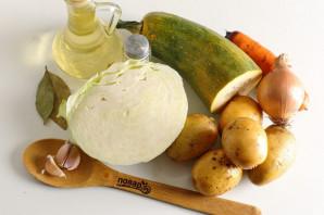 Овощное рагу с картошкой - фото шаг 1