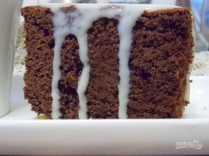 "Пирог ""Пористый шоколад"" - фото шаг 9"