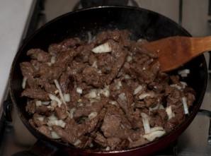 Азу из говядины с картофелем - фото шаг 7