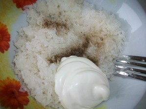 Салат из редьки со сметаной - фото шаг 3