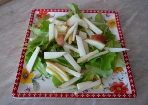 Салат с копченым мясом - фото шаг 4